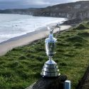 The Claret Jug at Royal Portrush Golf Club.