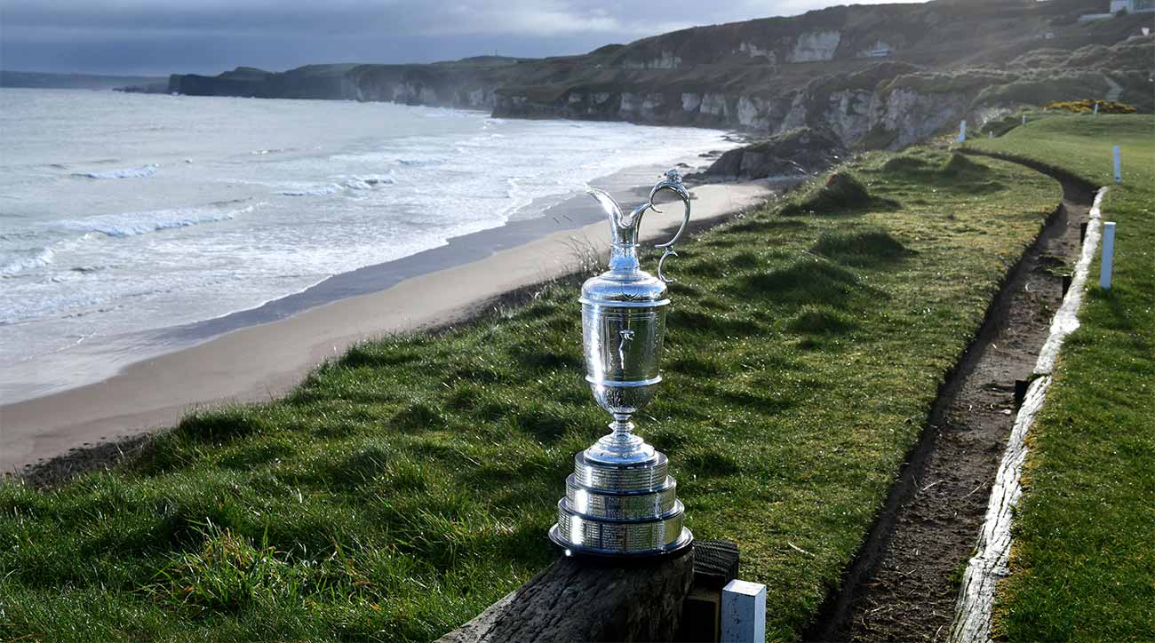 Is it the Open Championship or the British Open? It's really not that...