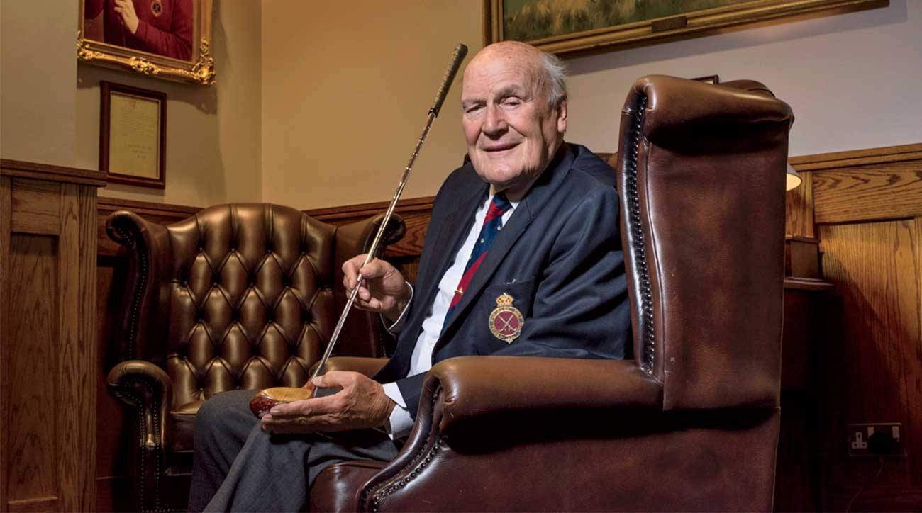 Ian Bamford, the Royal Portrush club historian.