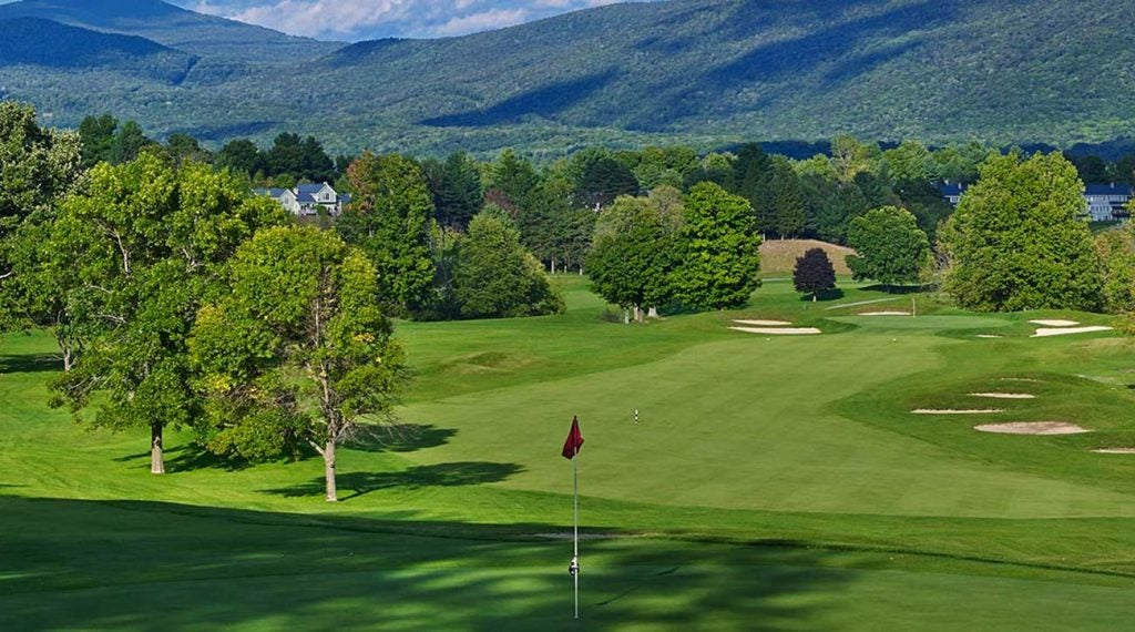 The Golf Club at Equinox in Vermont.