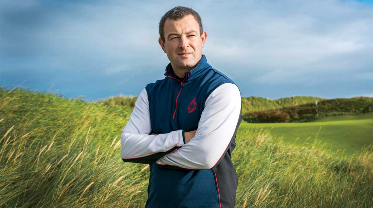 Graeme Beatt, Royal Portrush's course manager, is one of the many key players at the club.