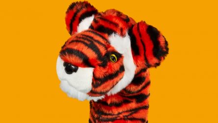 """Heacovers: Tiger's 'Frank"""" headcover"""