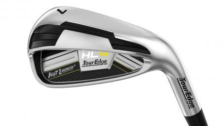 The Tour Edge HL4 irons.