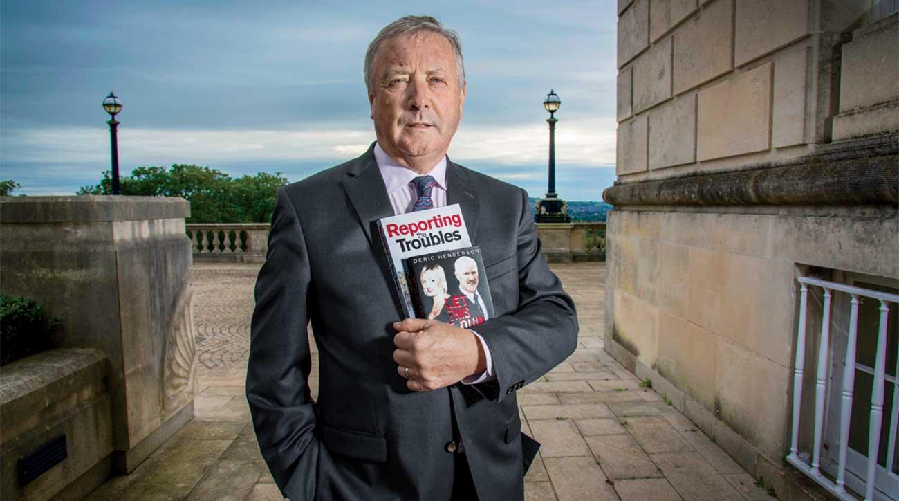 Deric Henderson, the Royal Portrush media officer.