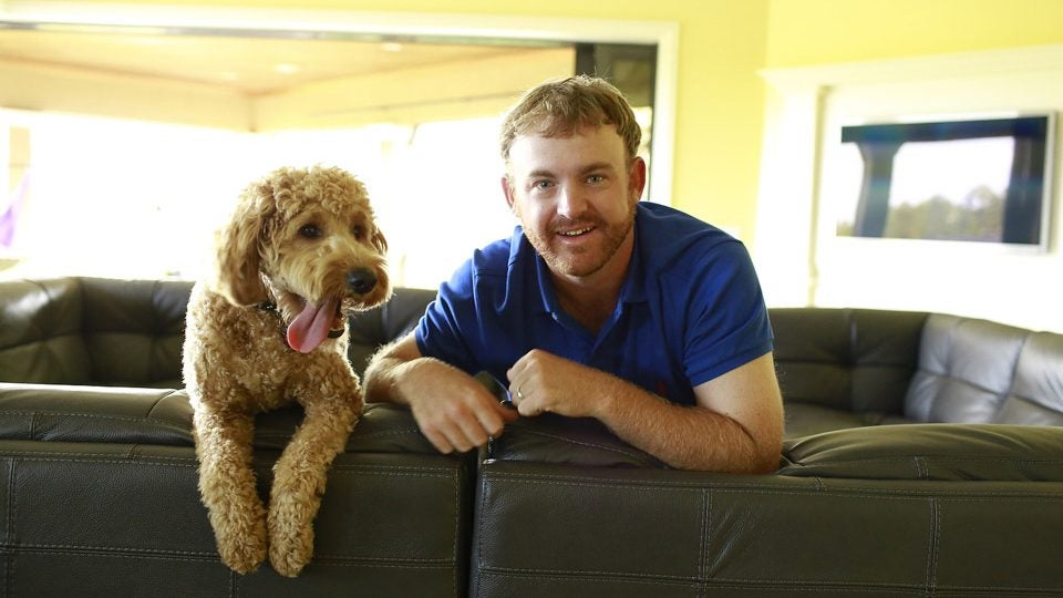 J.B. Holmes and Ace