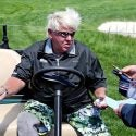 John Daly in golf cart PGA Championship