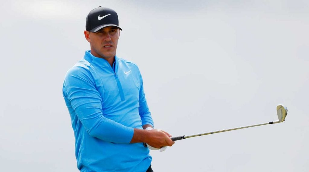 Brooks Koepka is trying to finish one of the greatest major seasons ever.