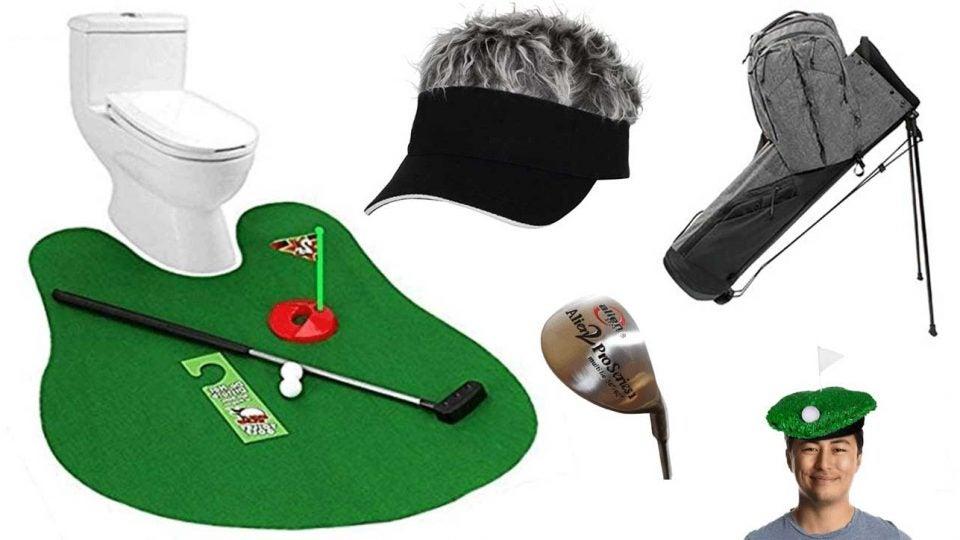 strange golf products