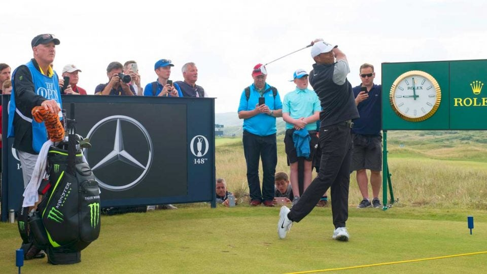 2019 british open tee times  friday u0026 39 s second round at