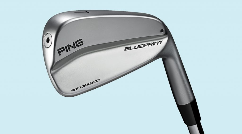 Ping's Blueprint irons were not designed with the average golfer in mind.