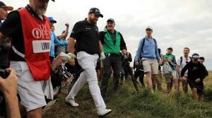 Shane Lowry went low, real low, at Royal Portrush on Saturday.