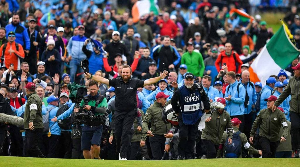 Shane Lowry had Ireland behind him at the 2019 Open at Portrush.