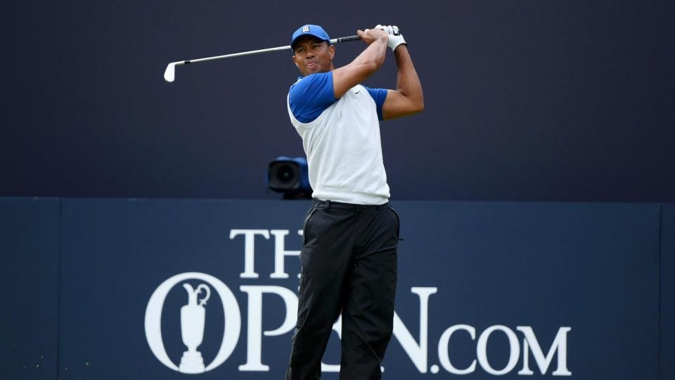 British Open live Coverage: Tiger Woods