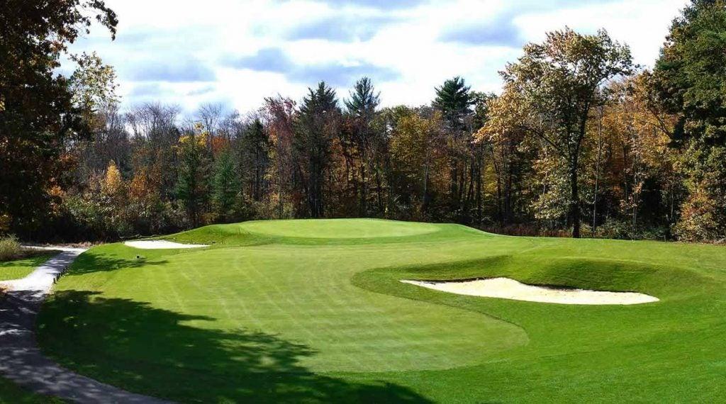 A view of Breakfast Hill Golf Club.