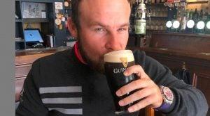Tyrrell Hatton preps Irish Open with Guinness