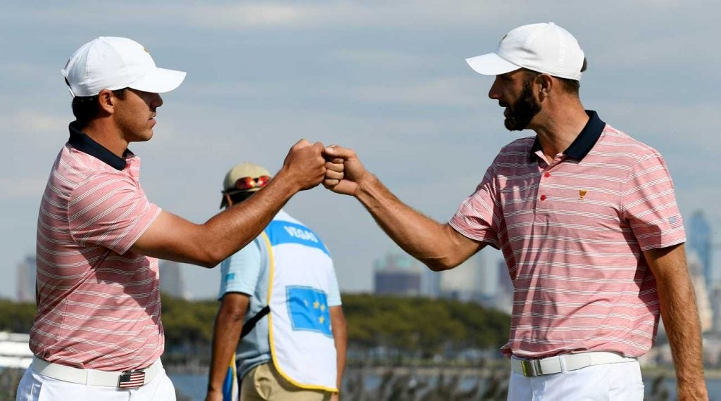 Brooks Koepka and Dustin Johnson are both automatic qualifiers for the upcoming Presidents Cup.