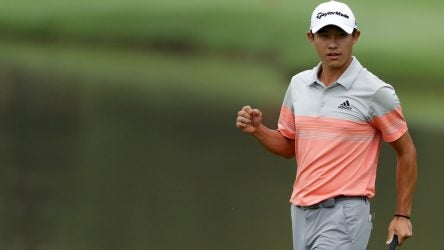 Collin Morikawa needed just six pro starts to notch his first PGA Tour win.