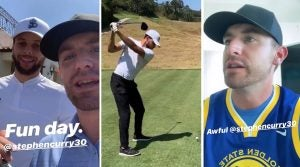 Steph Curry and Bob Menery faced off in a hilarious, high-stakes match at Riviera Country Club