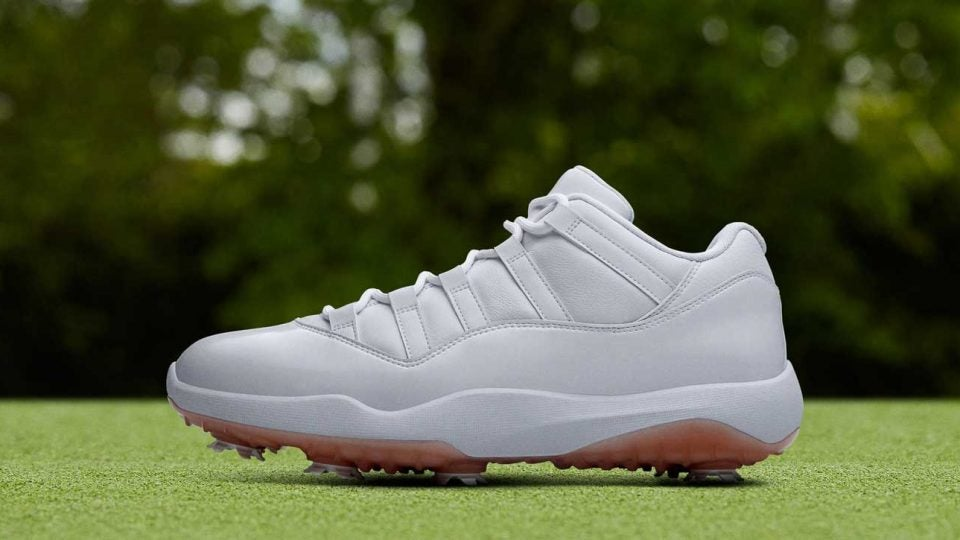 online store d931d de09e Nike's new Air Jordan XI Low Golf shoes will be available on ...