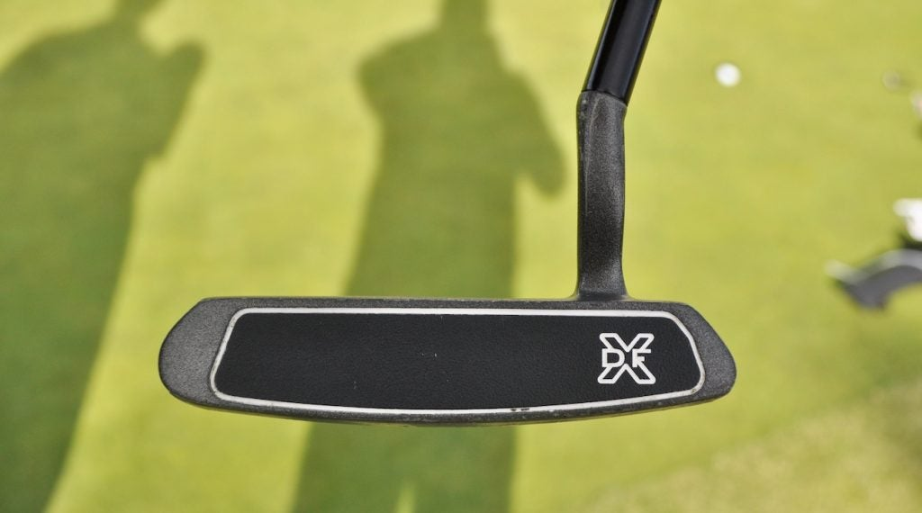Tommy Fleetwood's caddie, Ian Finnis, picked up the putter as a gift for his boss.
