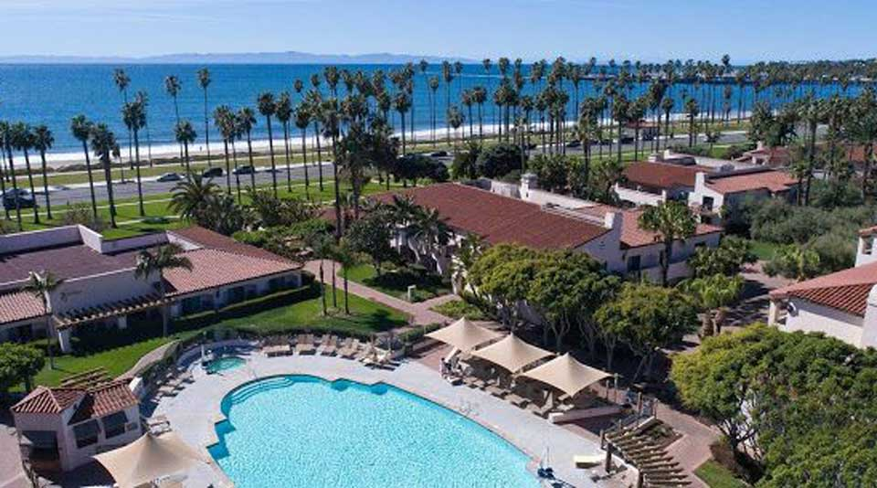 The Hilton Santa Barbara Beachfront Resort.