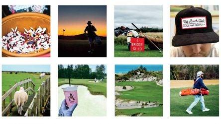 Golf instagrams