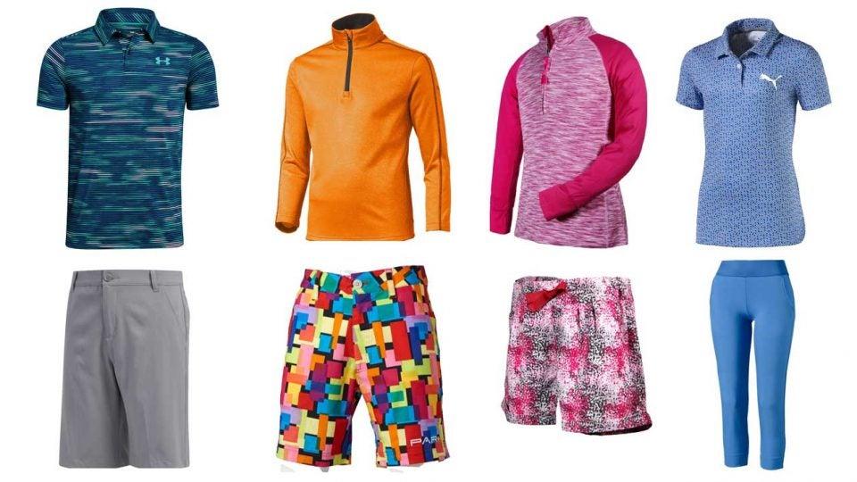 kids golf apparel