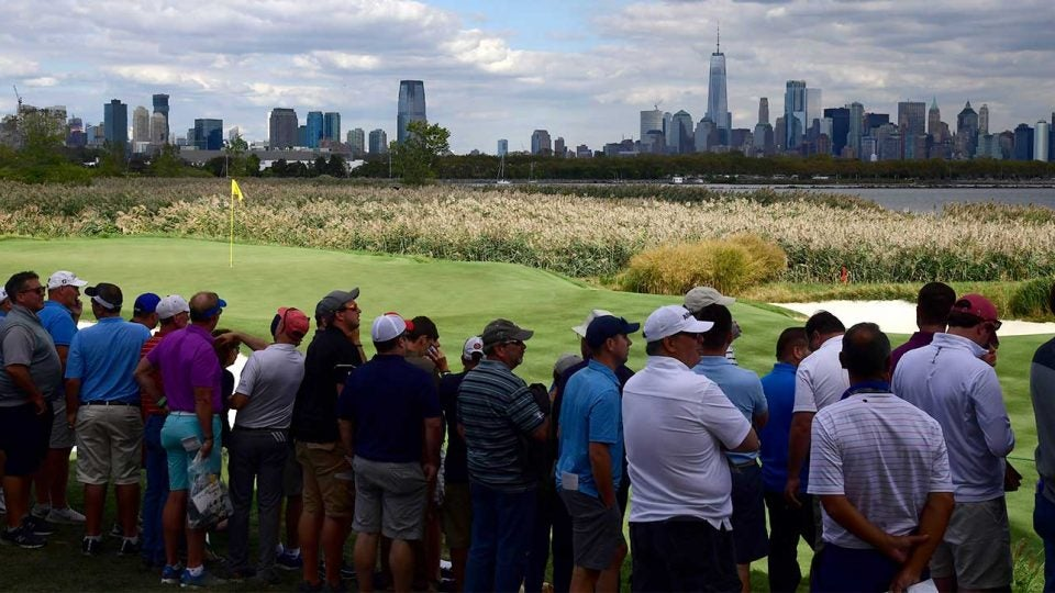 Liberty National has both spectacular views and spectacular golf.