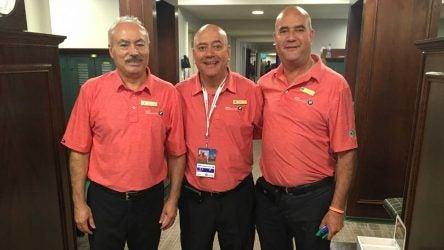 Medinah locker room attendants