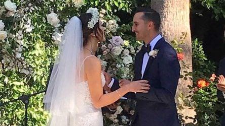 Michelle Wie marries boyfriend Jonnie West.