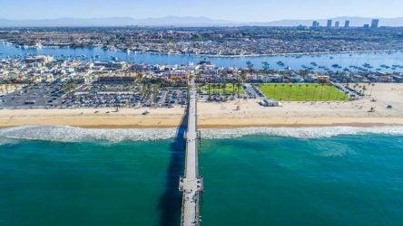 Newport Beach aerial