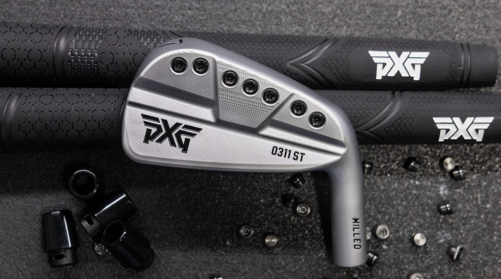 PXG's 100-percent milled 0311 ST irons.