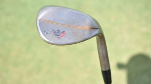 Patrick Reed's 51-degree Artisan Golf wedge.