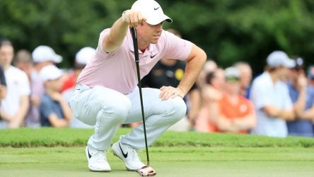 Rory McIlroy found his stroke on the greens this season with a TaylorMade Spider X Copper putter.