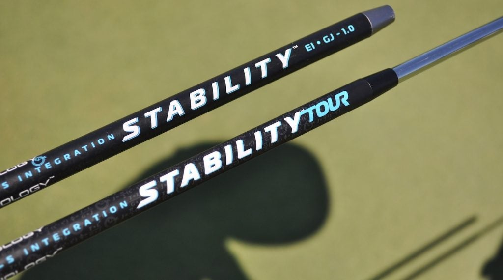 Breakthrough Golf Technology's slimmed down Stability Tour shaft (below) was recently introduced.