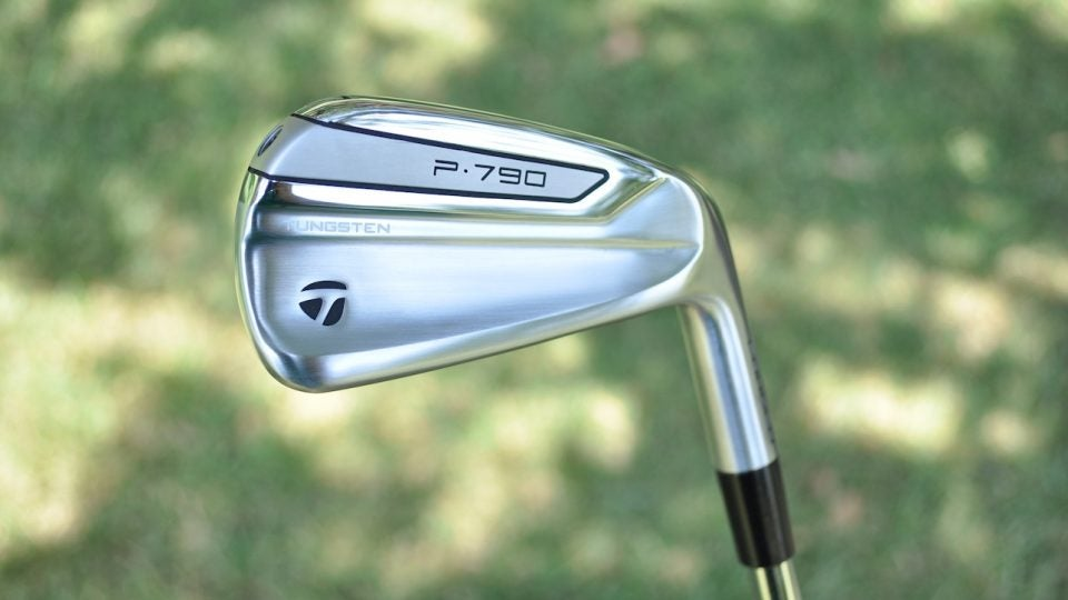 TaylorMade's new P790 irons.