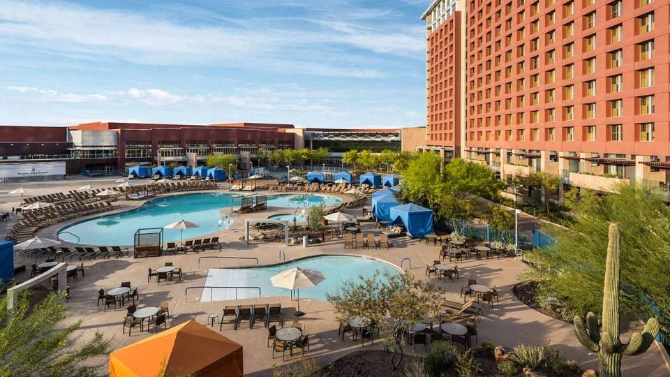 Talking Stick Resort is a great Scottsdale base for a buddies trip.