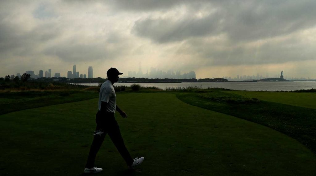 The lack of fans made for an eerie start to Thursday's round —but not for long.