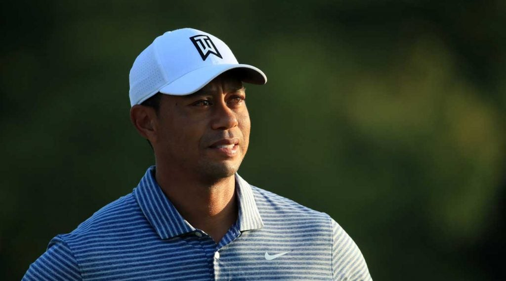 Tiger Woods has some questions to answer this week at Medinah.