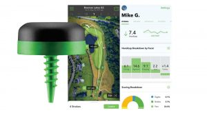 Smartphone readouts of Arccos data are intuitive and intensely graphic, and the sensors themselves a gorgeous design feat. The Arccos Caddie Smart Sensors kit, with software, sells for $250.