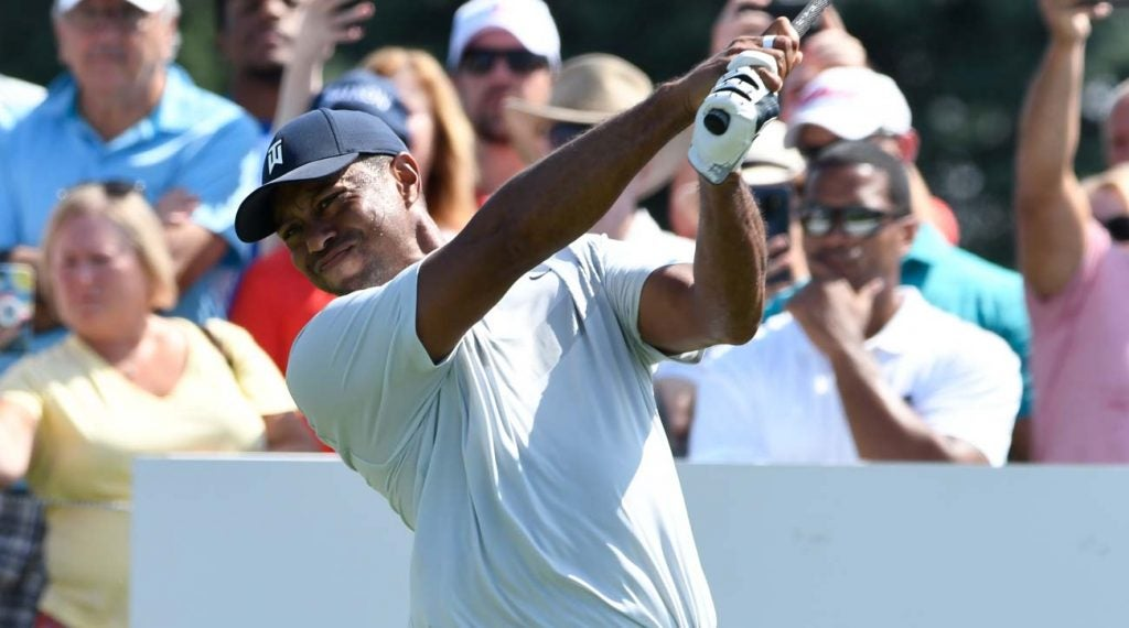Tiger Woods has an afternoon tee time Thursday at the 2019 BMW Championship