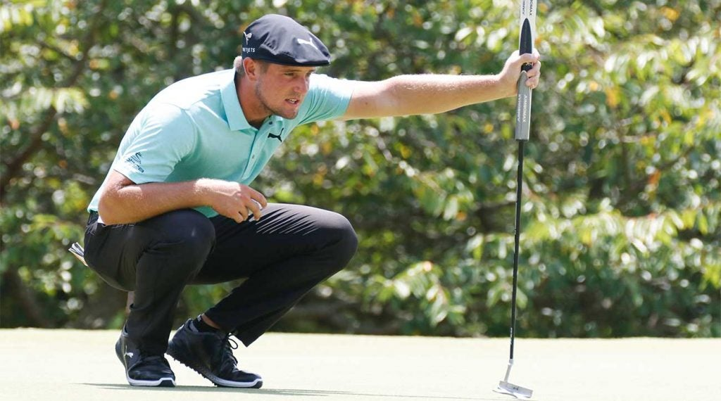 Bryson DeChambeau stirred the latest slow-play controversy at Liberty National.