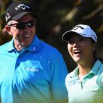 David Leadbetter and Lydia Ko, pictured in 2016, won 13 times when they worked together.