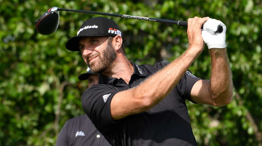 Dustin Johnson recently swapped out his longtime driver shaft.