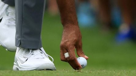 Tiger Woods' Bridgestone Tour B XS golf ball is tailor-made for his game.
