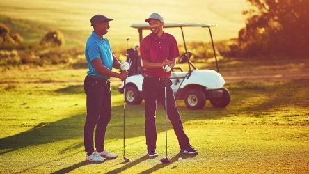 Here's how to be a good host at a golf club.