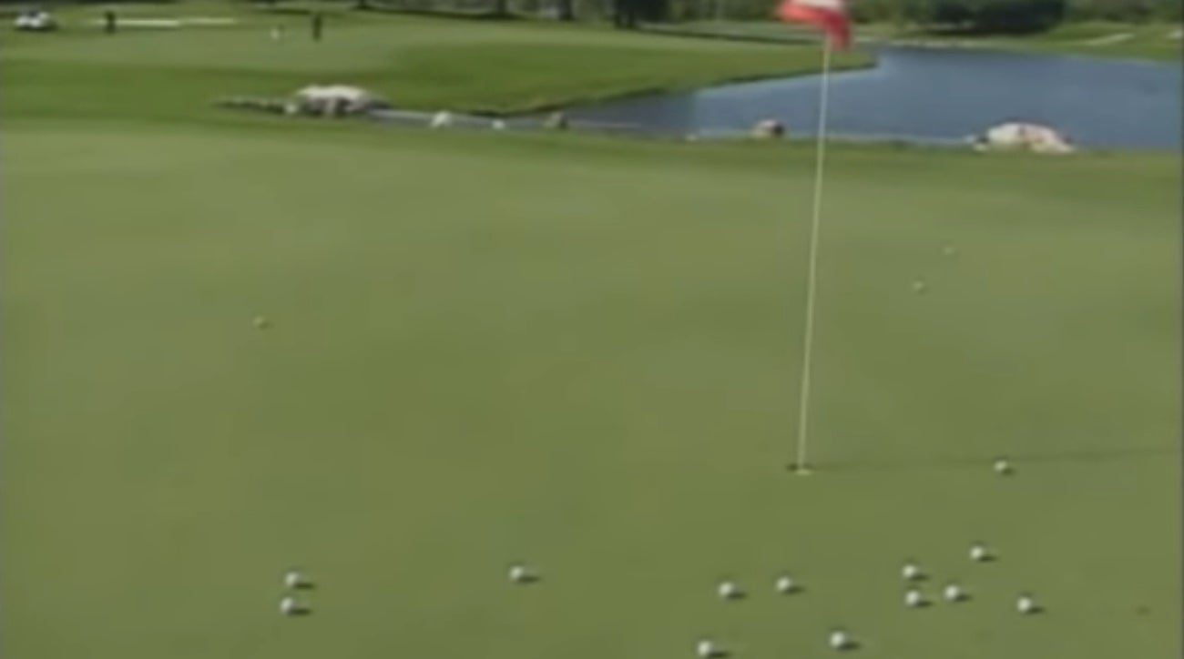 Rare old video shows what an amazing ball-striker Moe Norman was