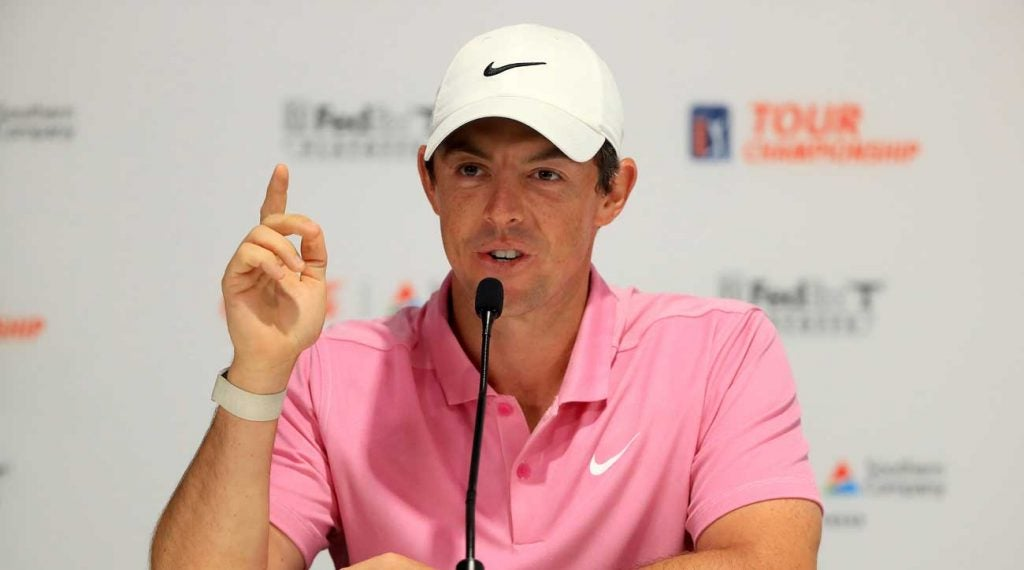 Rory McIlroy is currently ranked 11th on the PGA Tour career earnings list.