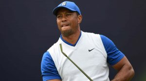 Multiple club setups: Tiger Woods at 2019 Open Championship