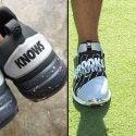 Brooks Koepka, Bo Jackson's Nike golf shoes